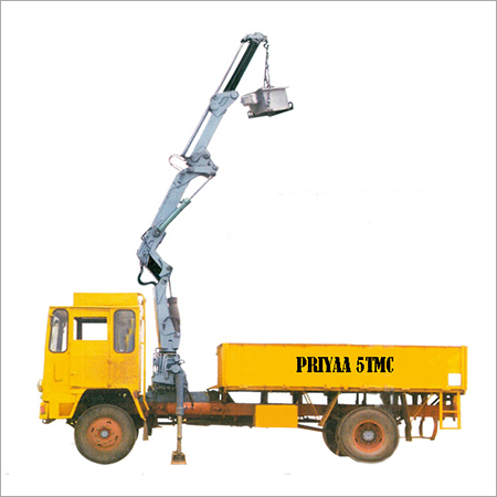 Foldable Truck Mounted Crane