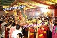 Royal Indian Wedding Palki