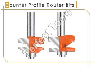 Counter Profile Router Bits