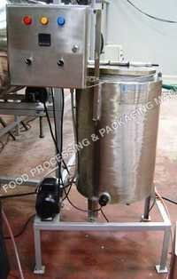 Slurry Mixing and Spray System for Food Snacks
