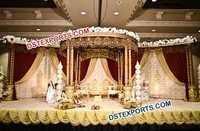 Gurrati Wedding Wooden Carved Wedding Mandap