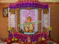 INDIAN WEDDING GANPATI DECORATIONS