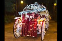 Wedding Lighted Cinderella Carriage