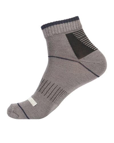 Extra Stretchable Dual Grip Stripling Ankle Socks
