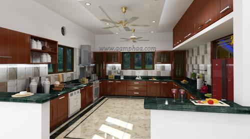 Kitchen U Shaped