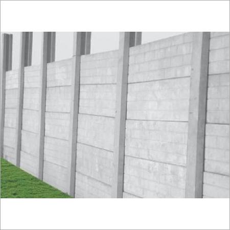 Six Or Eight Feet Boundary Wall