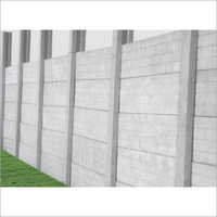 Six Or Eight Feet Boundary Wall