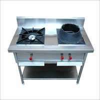 Two Burner Chinese Cooking Range
