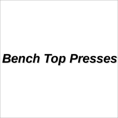 Bench Top Presses