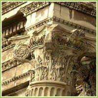 Indian Marble Pillars