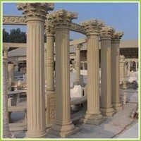 Indian Stone Pillars Round
