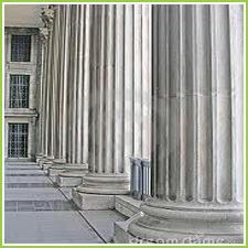Natural Stone Marble Pillars