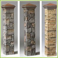 Natural Stone Pillars