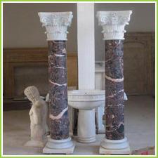 Marble Stone Pillars