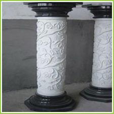 Granite Stone Pillars
