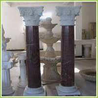 Carved Stone Pillars