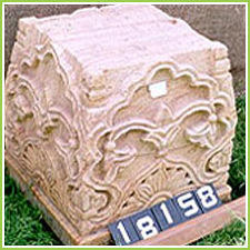 Carved Stone Base