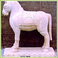 Natural Marble Stone Figures