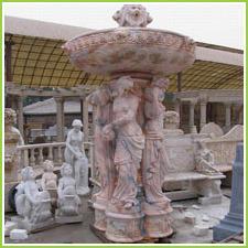 Stone God Statues