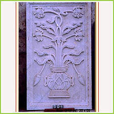 Hand Carved Stone Panel
