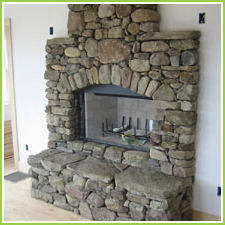 Sand Stone Fireplaces