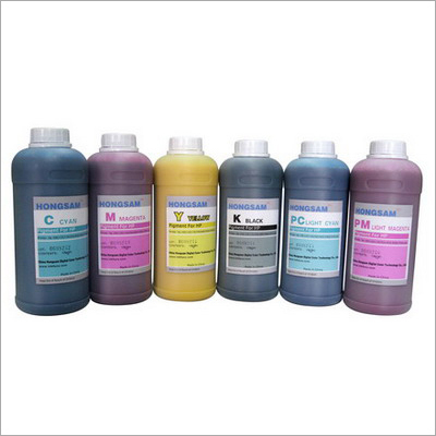 Colored Reactive Ink