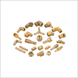 Brass Pneumatic Fittings Hydraulic Fittings Parts Components