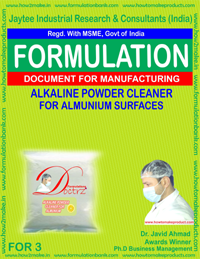 Industrial Use Product Formulation ebooks