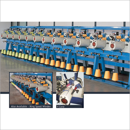 Twin Spindle Cone Winder