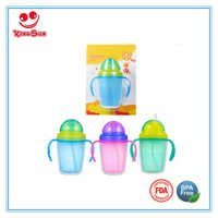 8 Oz Wide Neck Leak Proof Baby Training Cup