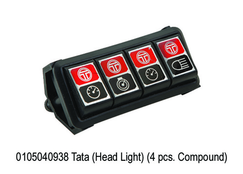 1026 SY 938 Tata (Head Light) (4 pcs. Compound