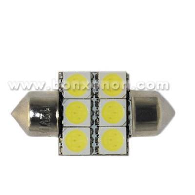 License Plate Light Festoon-5050-6SMD