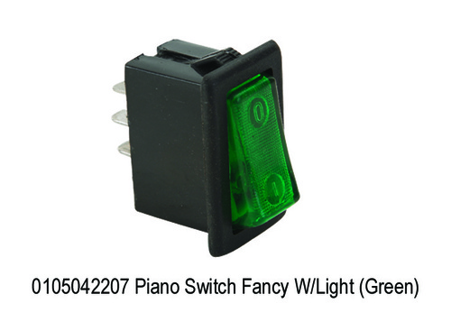 Piano Switch Fancy WLight (Green)