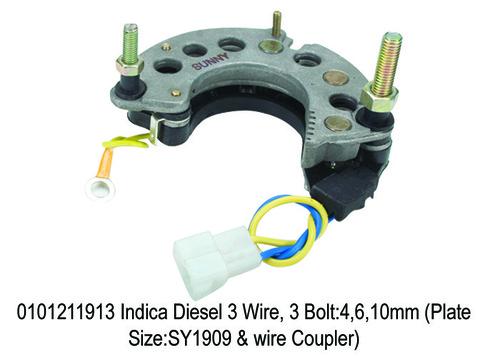 R.Plate Indica Diesel 3 Wire 3