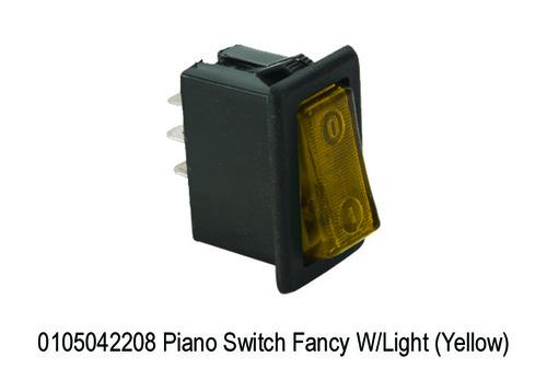 Piano Switch Fancy WLight (Yellow)