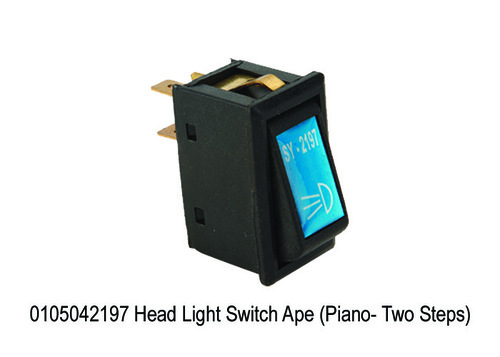 Head Light Switch Ape (Piano- Two Steps)