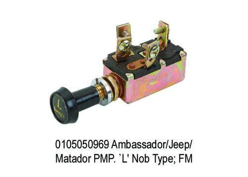 Ambassador Jeep Matador PMP. `L' Nob Type fm