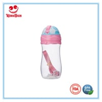 Baby Training Cup Water Bottle With Straw Straps