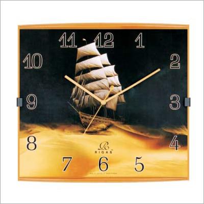 Designer Printed Wall Clock