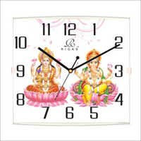 Ganesh Laxmi Wall Clock