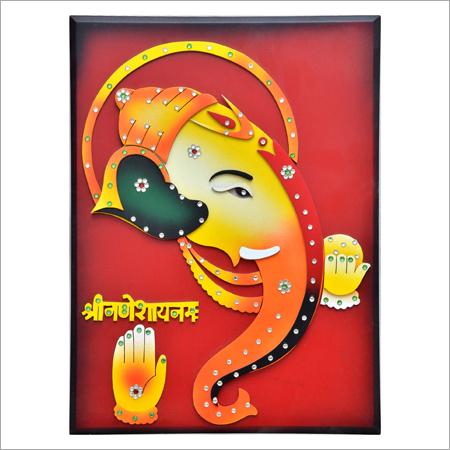 Terracotta Ganesh Wall Hanging