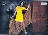 Cotton Printed Patiyala Suits