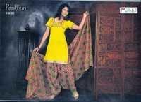Cotton Printed Patiyala Suits