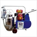 Engine Operated Single Bucket Milking Machine