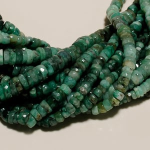 natural emerald faceted
