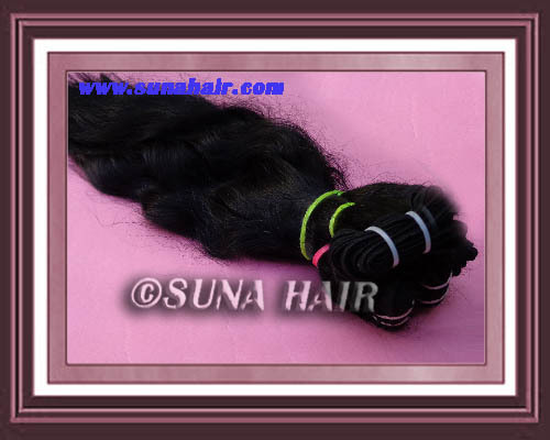 Cuicle natural weft high quality hair
