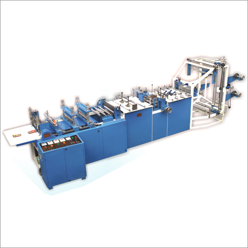 Center Seal Pouch Making Machine