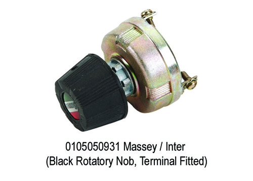 Massey  Inter (Black Rotatory Nob, Terminal