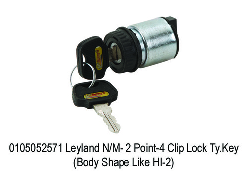 Leyland NM- 2 Point-4 Clip Lock Ty.Key