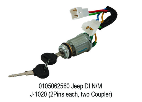 Jeep DI NM J-1020 (2Pins each, two Coupler